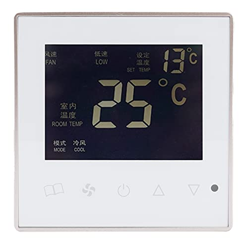 SALUTUY Recinzione per condizionatore d'Aria, regolatore di Temperatura Forte capacità Anti-interferenza per corridoio per Camera da Letto per Soggiorno per Sala da Pranzo
