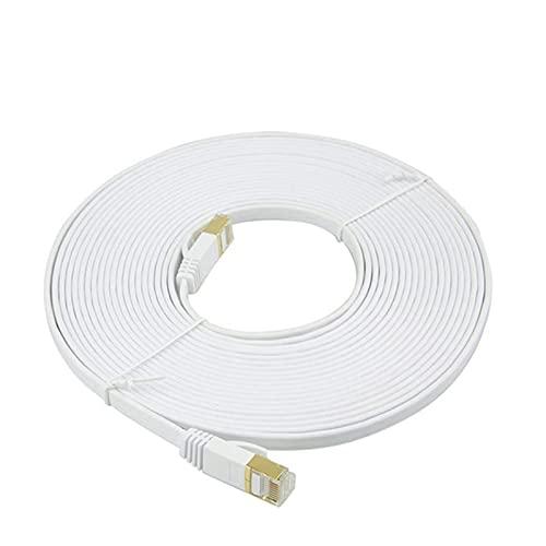 XIAOSHI Cable de Ethernet CAT7 Red LAN Cable RJ45 Cable de conexión...