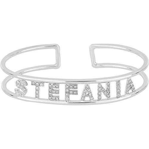 GioiaPura Bracciale con Il Nome Stefania Charms in Argento Trendy cod. GYXBAZ0022-36