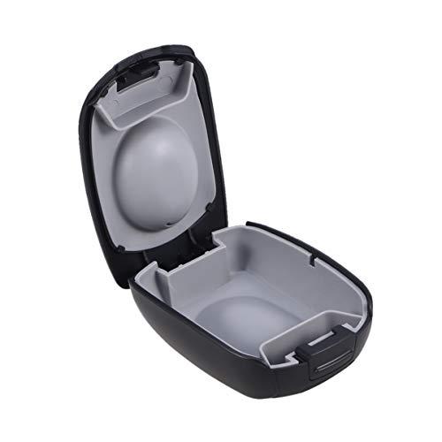 SUPVOX Hörgerätekoffer wasserdicht tragbarer kleiner Hörgerätekoffer (schwarz)