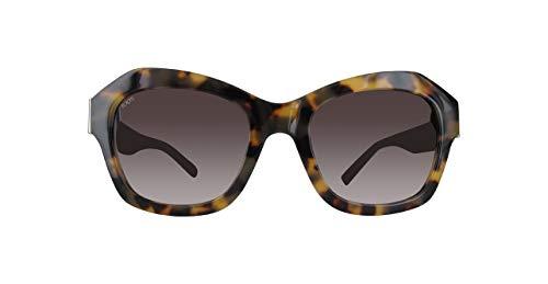 TOD'S TO0195 TO0195-56T-bruin vlinder zonnebril 53, bruin
