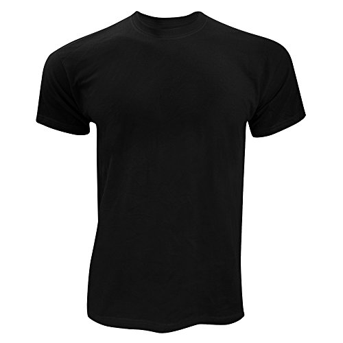 Fruit of the Loom Screen Stars - T-Shirt à Manches Courtes - Homme (M) (Noir)