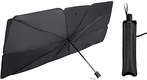 Parasol para Parabrisas de Coche Parasol de protección solar para coche, parasol para coche, protector UV, accesorios interiores, compatible con 2 3 6 8 Axela Atenza CX-5 CX5 CX-7 CX-9, parasoles ple