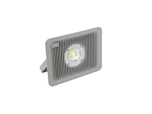 showking LED Scheinwerfer BRITUS Slim 230V / 30W, IP65, 120°, 6000K - Schmaler Outdoor Strahler für Fassadenbeleuchtung/Gartenbeleuchtung