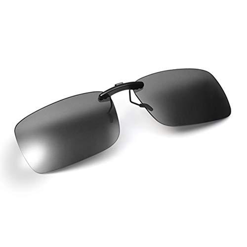 AoHeng Nieuwe Clip HD Nachtzicht Antireflectie Anti-Blauw Licht Gepolariseerd Meekleurende Nacht Rijden Computerspel Bijziendheid Prescription Brillen Zonnebrillen Clip UV-bescherming