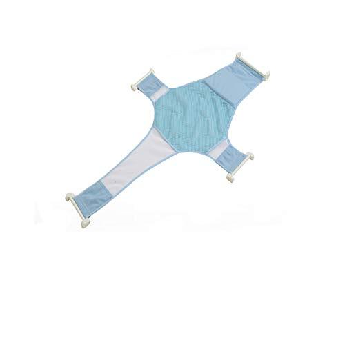 YUEMING Recién Nacido Asiento Baño del Bebé Accesorios de Baño de Soporte del Asiento,Malla de Ducha Bañera de Recién Nacido Antideslizante Ajustable y Cómodo para bebés de 0 a 3 Mes