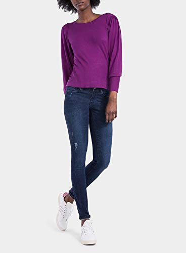 Tiffosi Blake_208 10023979 Jeans Donna Skinny Blue con Rotture (W28 L30)