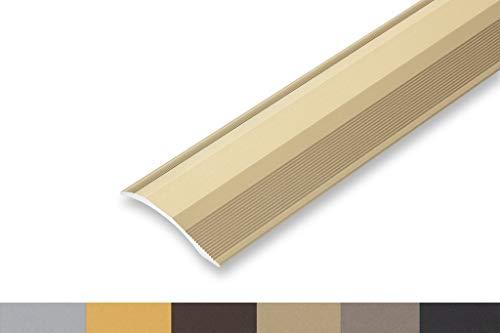 (10,06€/m) Ausgleichsprofil selbstklebend 45 x 1700 mm Ausgleichsprofil Übergangsprofil flexibel - für Höhenunterschiede von 2-20 mm (1700 mm, Sand)
