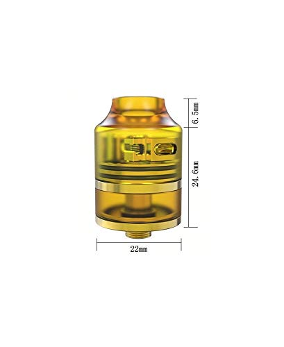 Wasp Nano RDTA 2ml Oumier - Transparent Gold No nicotina ni tabaco.