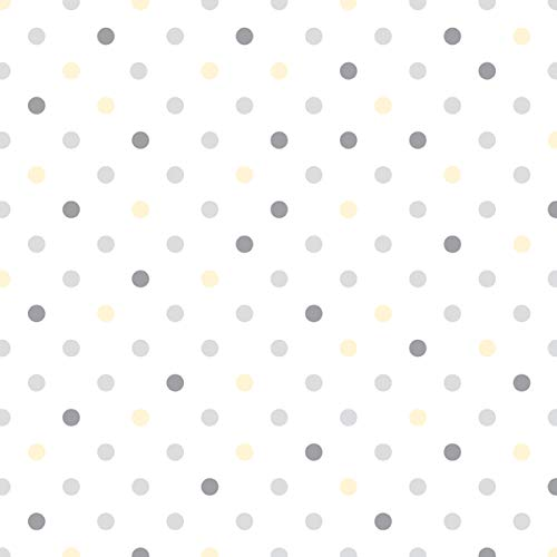 Con-Tact Creative Covering Self-Adhesive Vinyl Drawer and Shelf Liner, 18''x60', Dottie Gray