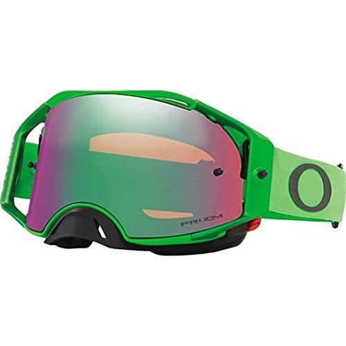 Oakley Airbrake MX Moto - Gafas de moto todoterreno para adultos, color verde