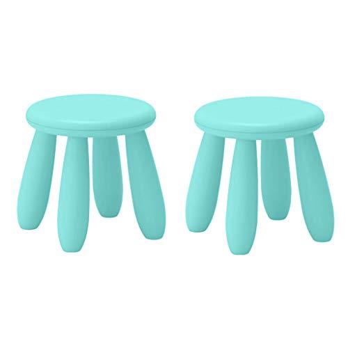 MERIGLARE Sedile Prescolare per Sedia in Plastica per Bambini 2 Pezzi
