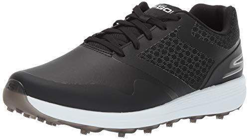 Skechers Women's Max Golf Shoe, Black/White, 10 M US