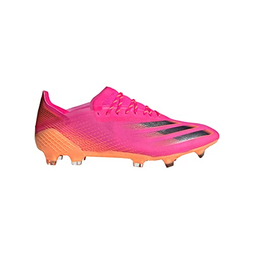 adidas X GHOSTED.1 FG, Zapatillas de fútbol, ROSSHO/NEGBÁS/NARCHI, 36 EU