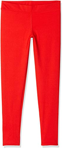 Activewear Sport Leggings für Damen, Rot, Medium