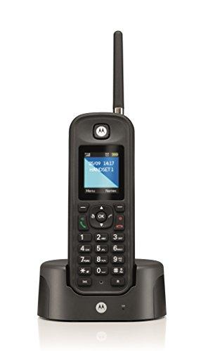 Motorola inalámbrico O201 teléfono no RDSI Negro