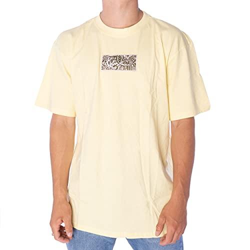 Karl Kani Small Signature Box T-Shirt Herren Shirt Yellow (gelb, XL)