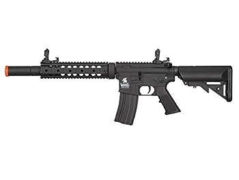 Lancer Tactical Gen 2 M4 SD Nylon Polymer AEG Airsoft Rifle  Black