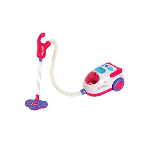 Mini aspiradora Modelo Modelo Juguetes Niños Limpieza Conjunto Servicio de Limpieza Pretend Play Miniatura Mueble Cocina Muebles para niños pequeños Niño Sin batería LTLNB