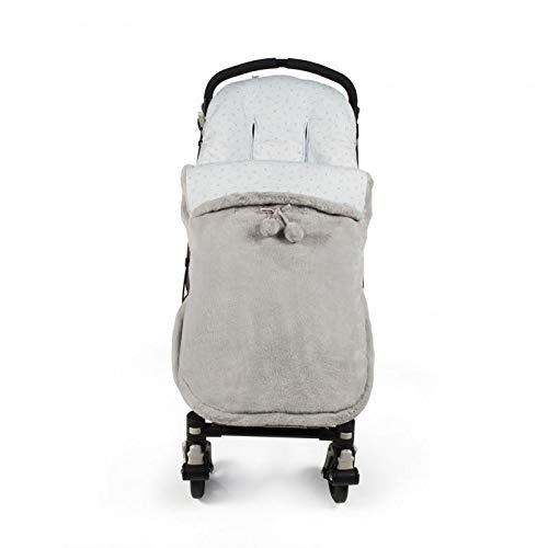 Pasito a pasito Furs - Saco para silla, unisex, color gris