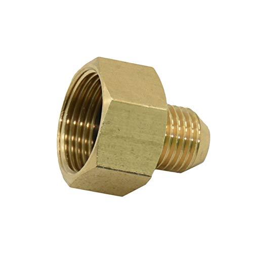 Adattatore del tubo delle famiglie Discussione esterno M14 M22 for 'Brass filettatura esterna filettato comune Rondella ad alta pressione del tubo flessibile di riparazione Garden Accessori rubinetto