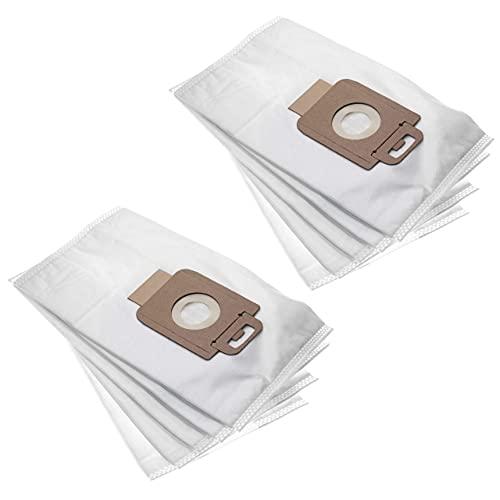 vhbw 10x bolsa compatible con Nilfisk Power Allergy, Energy Eco, P10, P Animal, P Cleaner, P P40, P Select aspiradora - vellón micro, blanco