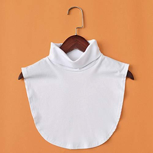 Damen Stehkragen, abnehmbare Choker-Halskette, Hemd, falscher Kragen für Pullover,...