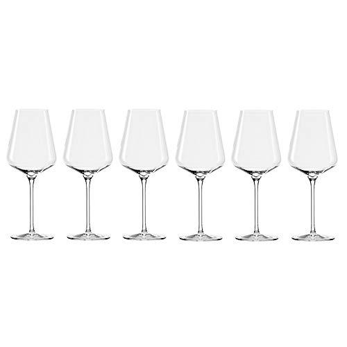 AYXC Copa De Vino Graciosa,Copas para Vino De Diseño Específico,aptas para Lavavajillas-650mlVasos De Cristal En Titanio Sin Plomo-Copas para Vino Tinto Universales para Diversas Variedades De Vid