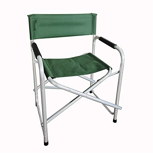 QWSA Silla de Camping Playa Plegable al Aire Libre Sillón Director Silla Picnic Playa Silla Plegable (Color : A Green)