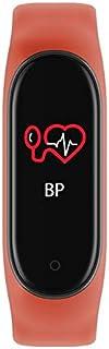 Zomeber Inteligente Pulsera de 0,96 Pulgadas Bluetooth 5.0 Pulsera Inteligente, Recordatorio de Llamada de Asistencia/Control de Las pulsaciones de Monitoreo/Presión Arterial (Negro)