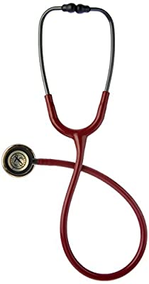 3M Littmann Classic III Monitoring Stethoscope, Black Edition Chestpiece