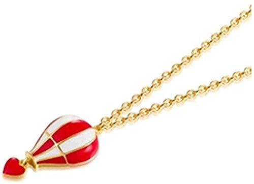 Yaoliangliang Collar Verano Corazón Collares para Mujer Despedida De Soltera Boda Collar de joyería de declaración