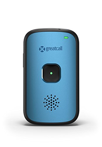 GreatCall Splash Waterproof One-Touch Mobile Medical Alert Device - Tahoe Blue