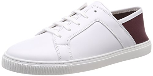 Liebeskind Berlin Damen LS180340 Nappa Slip On Sneaker, Weiß (Optic White W. Plum), 36 EU