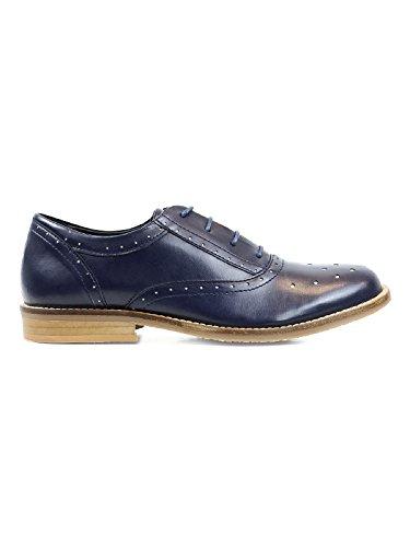 Wills Vegan Shoes City monks - Zapatos de cordones para hombre Negro negro