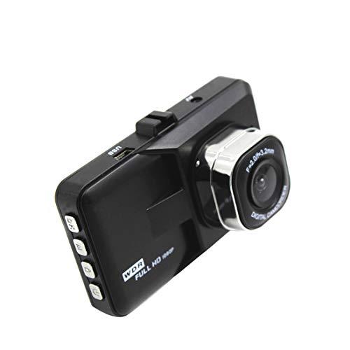 Dash Cam Car Camera Recorder Full HD 1080P voorste en achterste camera's, Driving loop recording Met 3,0