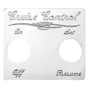 Peterbilt Two Switch Cruise Control Switch Plate