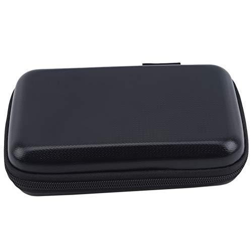 Hengxing EVA Digital Accessoires Sac De Rangement Portable Zipper Housse de Transport,Noir