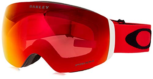 Oakley Unisex-Adult Flight Deck Xm Sunglasses, Mehrfarbig (red Black/prizm Snow Torch Iridium), M