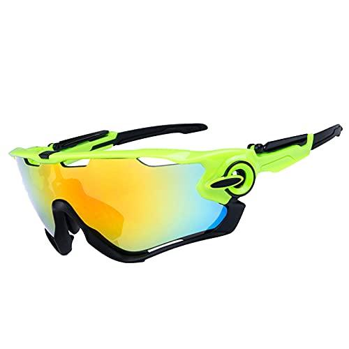 YHNY Gafas Deportivas de Ciclismo al Aire Libre Gafas de Sol polarizadas Bicicletas de montaña Glasses TR90 Frame & UV400 Transición de Seguridad de Seguridad de Protecci Style 6