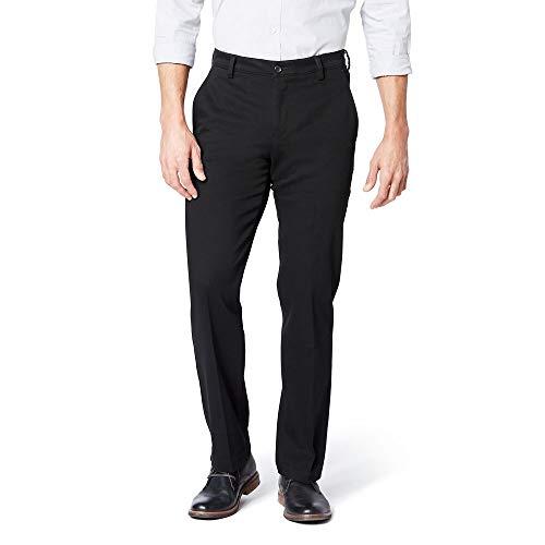 Dockers Men's Slim Tapered Easy Khaki Pants, black (Stretch), 32W x 34L