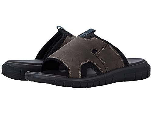 Dockers Mens Shawn SupremeFlex Slide Sandal, Chocolate, 13 M