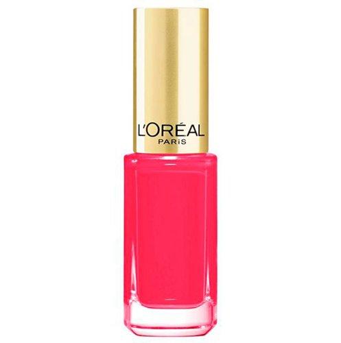 L'Oréal Paris Color Riche Le Vernis Nagellack in knalligem Rosa / Glänzender Farblack in...