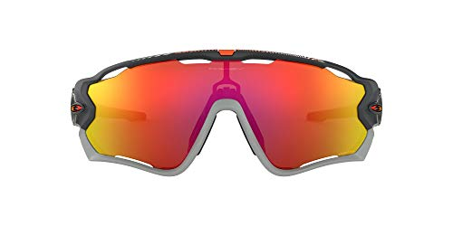 Oakley Jawbreaker Occhiali da Sole, Grigio (Gris), 1 Uomo