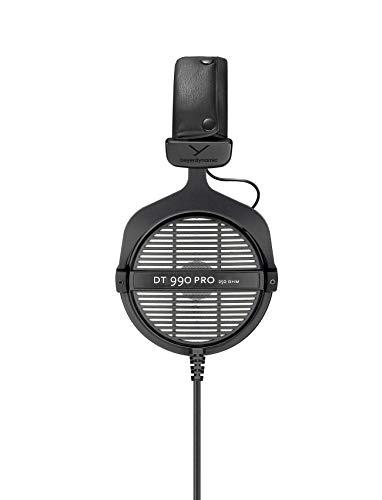 Closed Back vs Open Back Headphones - Beyerdynamic 459038 DT 990 PRO open Studio Headphone