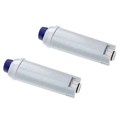 vhbw 2x Wasserfilter Filter passend für DeLonghi EC 860.M, ECAM 21.110.B, ECAM 21.110.SB Kaffeevollautomat, Espressomaschine