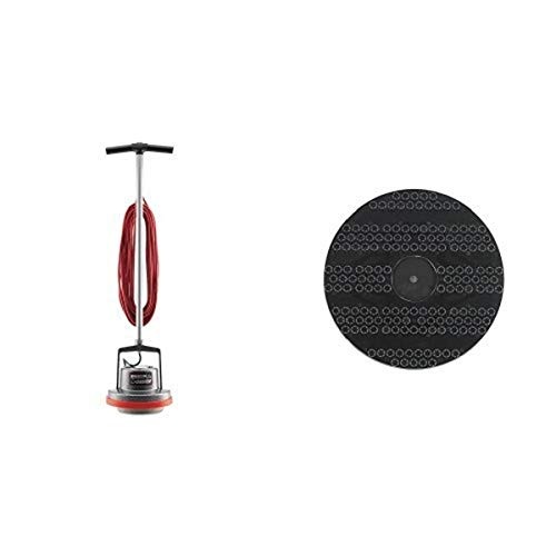 Oreck Commercial ORB550MC Orbiter Floor Machine, 13' Cleaning Path, 50' Cord and 53178-51-0327 Drive Pad Holder, 12' Diameter, For ORB550MC Orbiter Floor Machine bundle