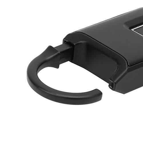 Cerradura inteligente, Cerradura inteligente de seguridad, Antirrobo Carga USB inteligente Luces indicadoras portátiles de 3 colores para la cerradura de seguridad del hogar Dormitorio de