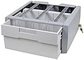 "Ergotron SV Supplemental Storage Drawer, Single Tall - 2.20 lb Weight Capacity - 18"" Length x 17"" Width x 9.5"" Height - Gray, White (Renewed)"