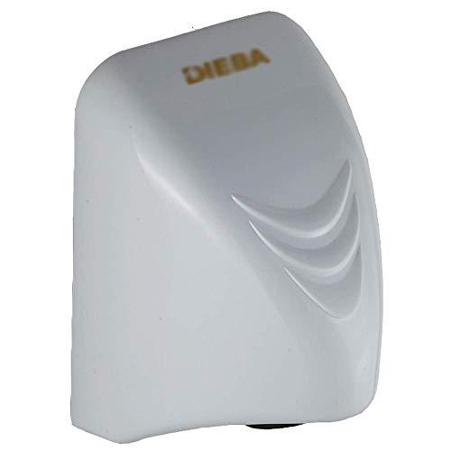 XINTONGTONGH Handtrockner zur Wandmontage Energiesparend, vertikal für Küche, Bad, Weiß, 14x15x22CM